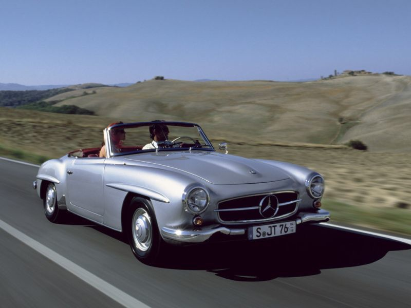 Mercedes-Benz 190 SL 1955-1963