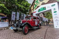 Škoda 422 (1930-1934) bei der Top City Classic Rally 2019 in China.